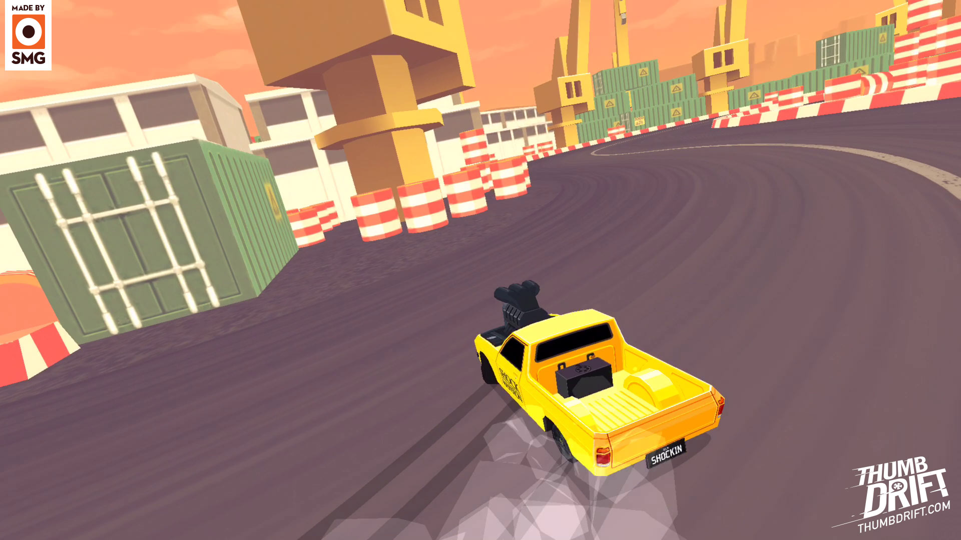 Thumb Drift: Furious One Touch Car Racing for mobile and tablet